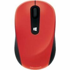 Microsoft Sculpt Mobile Mouse - BlueTrack - Wireless - Radio Frequency - Flame R
