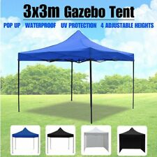 3x3M Gazebo Outdoor Pop Up Tent Folding Marquee Party Wedding Camping HHOT