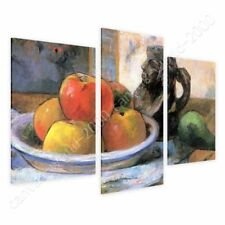 READY TO HANG CANVAS Still Life Paul Gauguin 3 Panels Framed Paintings