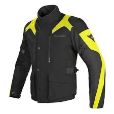 Motorcycle Textil Jacket DAINESE TEMPEST D-DRY / black/fluo - ALL SIZES!