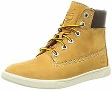 Timberland CA163EM Kids Groveton 6in Lace Up Wheat BootsUK/28 Euro