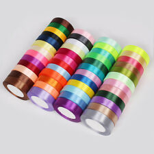 Satin Single Ribbon Sided 20mm 33 Colors 25 Yards Full Reel Wide Bow Accessories