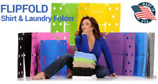 MiracleFold Laundry Folder Clothes Shirts Pants Towels Organizer Fast Easy  TV