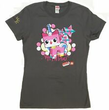 """The Lego Movie BUSINESS KITTY """"UNIKITTY"""" Girls T-Shirt NWT Licensed & Official"""