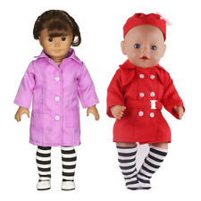 Long Sleeve Nurse Uniform Clothes for 14'' American Girl Hannah Journey Doll