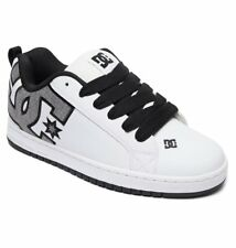 DC SHOES COURT GRAFFIK SE WHITE - HEATHER GREY 300927 WHH MENS UK SIZES 9 - 13