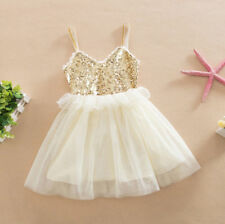 Princess Sleeveless Dress Tulle Ball Gown Fancy Lace Sequined Children Fashion