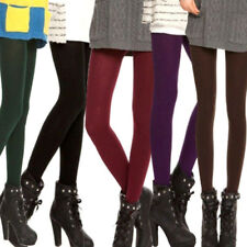 Winter Warm Leggings Fleece Velvet Knitted Thick Slim Fitness Elastic Tight Pant