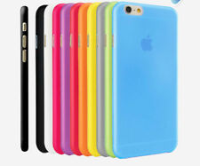 "0.3mm Ultra Thin Slim Matte Hard Back Case Cover Skin For Apple iPhone 6 4.7"" 5"