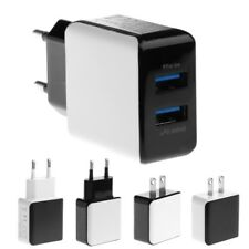 5V 2.5A Dual USB Wall AC Power Charger Adapter EU/US Plug For iPhone 5 6 7 Phone