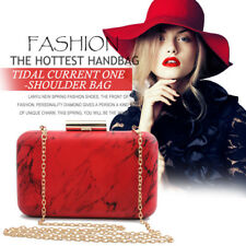 Fashion Women Evening Clutch Chain Shoulder Bag Party Purse Stone Handbag Totes