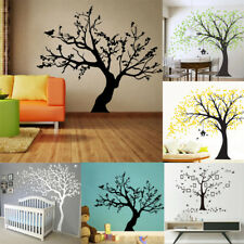 Large Family Tree DIY Decal Paper Art Wall Sticker Home Nursery Room Decor Mural
