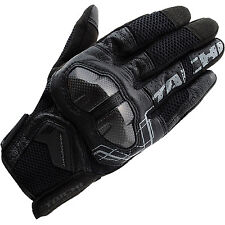 RS Taichi Armed Mesh Motorcycle Gloves - Black