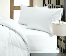 """Brand New Soft """"White"""" Solid 1000TC 100% Egyptian Cotton US Bedding in All Size"""