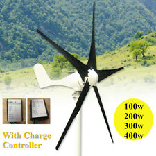 5 Blades Wind Turbine Generator with Windmill Charge Controller 100/200/300/400W
