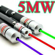Powerful Green/Red/Blue Pointer Pen Beam Light 5mW Professional High Power Laser