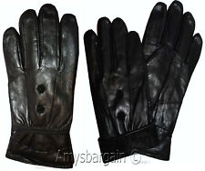 New Women's Leather Gloves, Black Warm Winter Gloves Unbranded Gloves Guantes BN