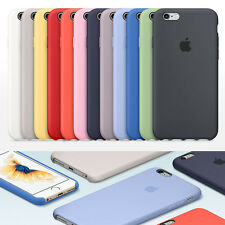 Genuine Silicone Soft Case Cover For Apple iPhone 6 6s Plus / 7 7Plus Ultra-Thin