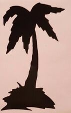 Palm Tree Silhouette Vinyl sticker decal choose Color Size