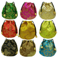 Ethnic Style 1 Pcs Silk Embroidery Bags Jewelry Drawstring Drawstring Pouch