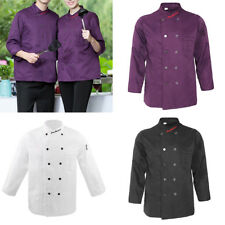 Five Star Chef Apparel Mens Womens Long Sleeve Executive Chefs Coat Jacket
