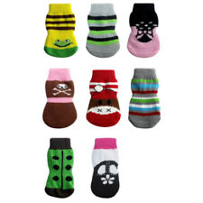 Lovely Anti-slip Cotton Dog Puppies Warm Socks Boots Shoes Winter Clothes S/M/L