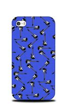 MUSIC ELECTRIC GUITAR PATTERN HARD CASE COVER FOR APPLE IPHONE 4 / 4S