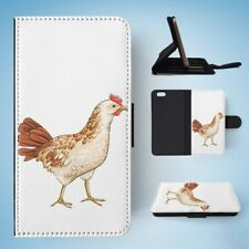 CHICKEN FARM BIRD FLIP WALLET CASE COVER FOR IPHONE 6 / 6S