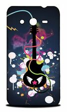 MUSIC ELECTRIC GUITAR HARD CASE COVER FOR SAMSUNG GALAXY CORE 2