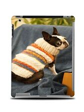BOSTON TERRIER DOG 1 HARD CASE COVER FOR APPLE IPAD 2 / 3 / 4
