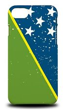 SOLOMON ISLANDS COUNTRY FLAG HARD CASE COVER FOR APPLE IPHONE 7
