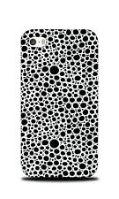 HAND DRAWN CIRCLE PATTERN 23 HARD CASE COVER FOR APPLE IPHONE 4 / 4S