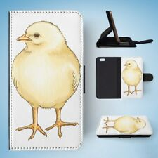 BABY CHICK CHICKEN FARM BIRD 2 FLIP WALLET CASE COVER FOR IPHONE 6 / 6S