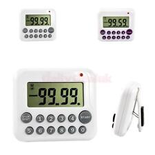 Compact Digital Countdown Event Timer LCD Cooking Kitchen Alarm Timer Reminder