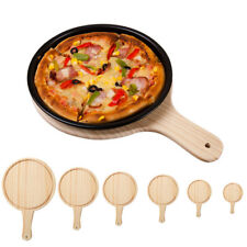 Wooden Board Pizza Serving Tray Kitchen Plate Sushi Dessert Platter 6 Sizes