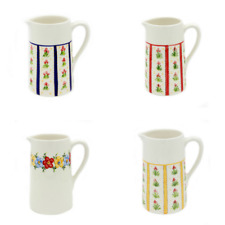 Hand Painted Decorative Ceramic Pitcher Made in Portugal