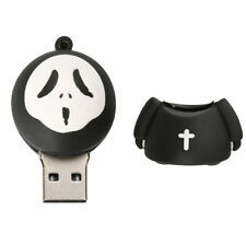 Silicone Funny Halloween Ghost Model USB2.0 Memory Stick Flash Pen Drive