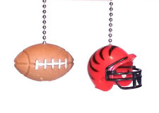 NFL® Helmet & Football Ceiling Fan Pull Chain Man Cave Sports Decor