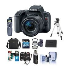 NEW CANON EOS REBEL SL2 DSLR WITH 18-55MM STM LENS - BLACK - W/PREMIUM ACCESS...