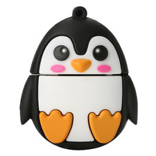 Soft Cool Penguin Shape USB 2.0 Memory Stick Flash Pen Drive Cartoon U Disk