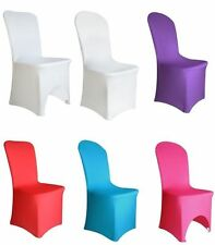 Spandex Lycra Chair Cover for Wedding Banquet Reception Party Event 11 colours