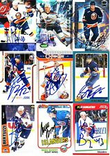 New York Islanders SIGNED autographed NHL Card YOUR CHOICE Mike Bossy Chara