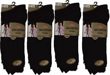 Mens Socks 12 Pairs 100% Cotton STOCK CLEARANCE