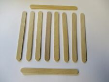 """Qty 100 200 500+ Wood Craft Popsicle Sticks 4 1/2 X 3/8"""" Great for Projects US"""