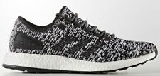adidas Performance PUREBOOST MEN'S RUNNING SHOES Black/White-Size US 12,13 Or 14