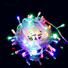 Waterproof Outdoor Led Fairy String Lights Christmas Tree Home Xmas Decoration