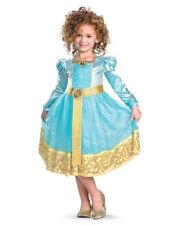 Child Deluxe Disney Pixar Brave Princess Merida Fergus Costume