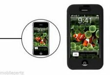 Black Soft Silicone Skin Case Cover for the Original Apple iPhone 3G / 3GS