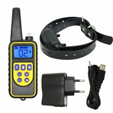 Waterproof Pet Dog Training Collar Rechargeable Electric LCD 100LV Shock 1000m