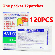 120 Patches Hisamitsu SALONPAS - Muscle Arthritis Aches Pain Relief By Hisamitsu